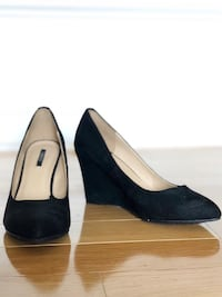 Suede wedges Forever 21 size 8 Canton, 02021