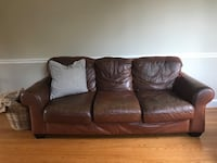 Leather Sofa and Loveseat Towson, 21286