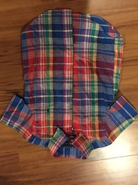 blue, red, and green plaid button up shirt Springfield, 22152