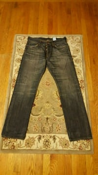 H&M Straight Fit 32x30 Men's Jeans with Copper Fad Boston, 02132