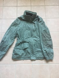 GAP  khaki shell jacket, cotton, xsmall, Vancouver, V5R 4V1
