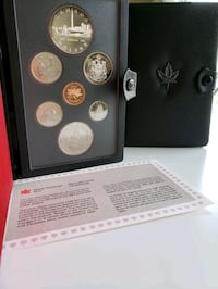 1984 Canada Mint Toronto Proof Set w/$1 50%Silver  Calgary, T2R 0S8