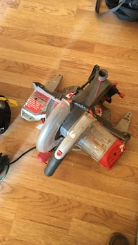 black and gray Rigid miter saw Baltimore, 21230