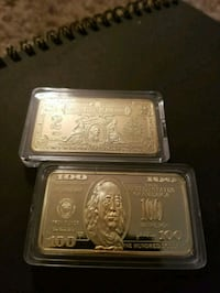 Two collectors gold clad  ars Louisville, 40213