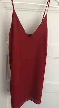 BRAND NEW WITH TAG RED WINE COLOR SUMMER MINI DRESS - ROBE - SIZE SMALL Laval, H7P 1Z7