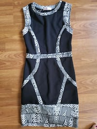 Black and white dress size small Calgary