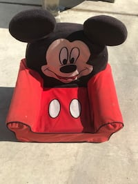 red and black Mickey Mouse backpack Los Angeles, 90061