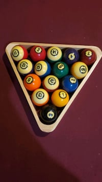 vintage pool ball exclusive