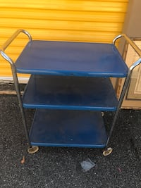 Vintage Metal Hospital Cart Tampa, 33603