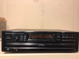 Onkyo 6 Disc Changer with Remote