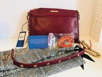Authentic Wine coloured Rebecca Minkoff Crossbody Markham, L3P 2T5