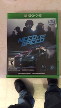 Need for Speed Xbox One game case New Market, 37820
