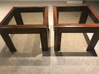 Glass end tables Barrie, L4N 6N8
