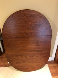Oval wood table top  Aurora, L4G 7T3