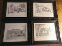 Authentic Sketches of US President's Homes St. Louis, 63116