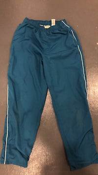 Blue and white track pants 295 mi