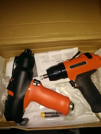 2 brand new Cleco air tools