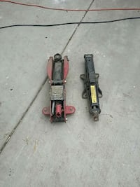 two red and black metal tools Bakersfield, 93307
