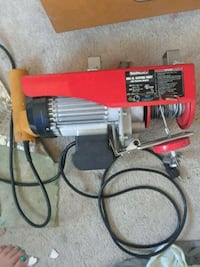 red and black corded power tool Newport Beach, 92660