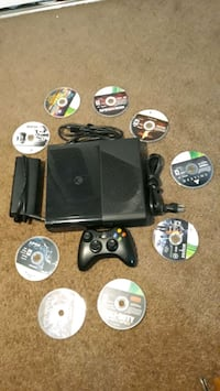 XBOX 360 with 8 games (Negotiable) Springfield, 22151