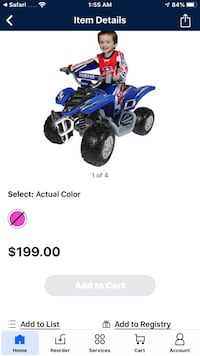 Power wheels 4 wheeler