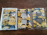 Minion light switch and 2 outlets covers  Burnaby, V3N 3Z7