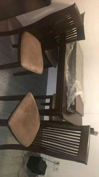 brown wooden dining table set Cambridge, N3C 2V4