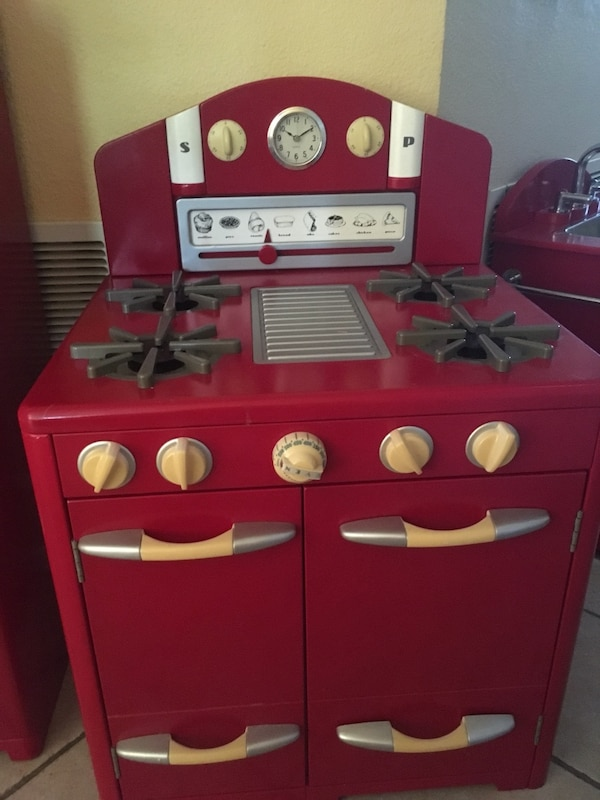 3 Piece Child Kitchen Set