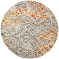 Safavieh Madison Cream/ Orange Rug - 5' Round Toronto, M1K 1V7
