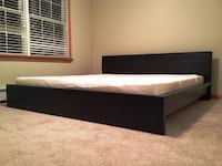 Ikea Malm King Bed Low - Washington DC 20005 - $70 CAPITOLHEIGHTS