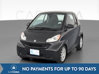 2012 smart fortwo coupe Pure Hatchback Coupe 2D Black