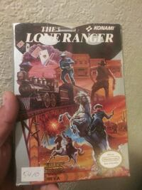 The Lone Ranger NES game complete Irving, 75038