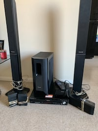 Panasonic home theater system / sound speakers Los Angeles, 90037