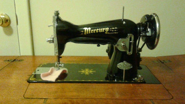 Used Mercury Electric DialoMatic Sewing Machine For Sale In Custom Matic Sewing Machine