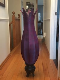 Tall, purple, stand up night lamp Cambridge, N1R 6Z8