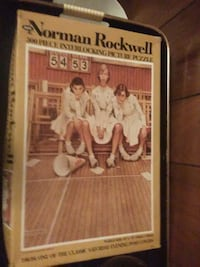 Norman rockwell puzzle Sherwood