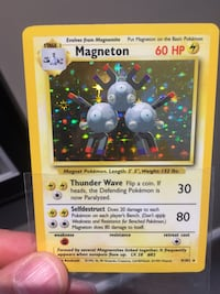yellow and red Pokemon trading card Edmonton, T6W