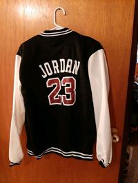 Back of the Michael Jordan coat  Eastern Passage, B3G 1B9
