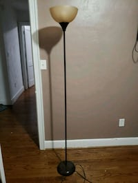 Brown floor lamp Norfolk, 23502