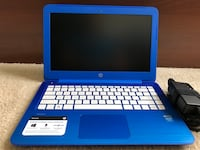 HP Stream Notebook PC 13, cobalt blue, 2.0 GB, 64-bit OS Waterford, 20197