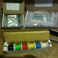 Capacitor, resistor and hook up wire kit  Chicago, 60629