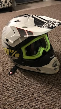 CRAZY PRICE!! Only been used for a week. Helmet cost me 120 and googles cost me 30. I'm going half price on what I got it for Elizabethtown, 42701