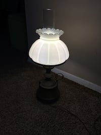white and black table lamp Falls Church, 22042