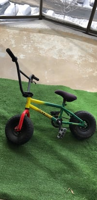 Children's yellow and black bicycle Mc Lean, 22102