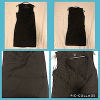 Beautifully ruched black INC dress- size 10- worn once.  Great on!!! Dallas, 75206