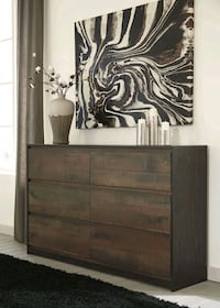 Windlore Dark Brown Dresser | B320   Houston