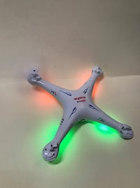 Syma - X5C 4 Channel 2.4GHz RC Explorers Quad Copter with Camera