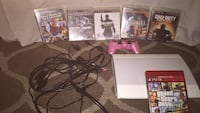 Use White Ps3 comes with all games you see  2272 mi