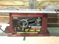 "Tradesman 10"" Table Saw.m Cleveland, 44113"