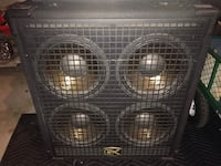 Bass speaker cab with 4 ea 10 inch speakers.  G&K brand. 400 Watts  Las Vegas, 89145